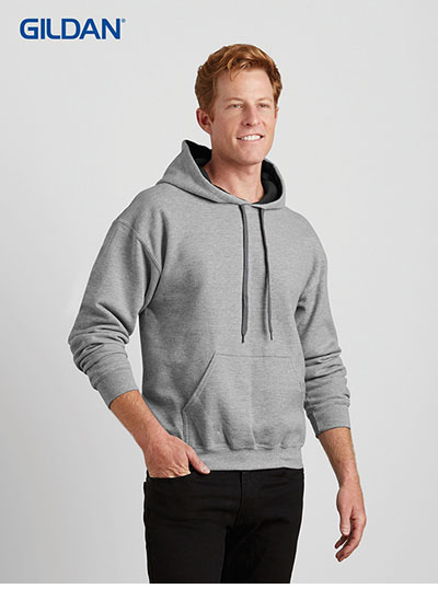 185C00 Heavy Blend Adult Contrast Hooded Sweatshirt