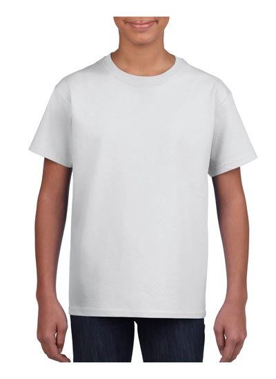 2000B Ultra Cotton Youth T Shirt  - White