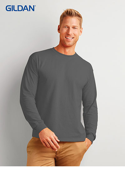2400 Ultra Cotton Adult Long Sleeve T Shirt