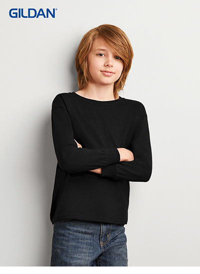 2400B Ultra Cotton Youth Long Sleeve T Shirt