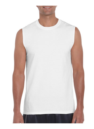 2700 Adult Classic Fit Sleeveless T-shirt - White