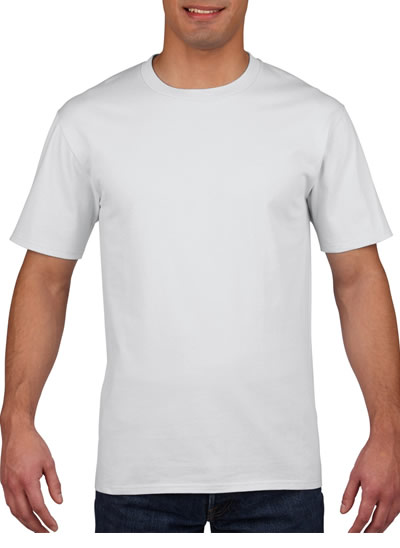 4100 Premium Cotton Adult T-Shirt - White