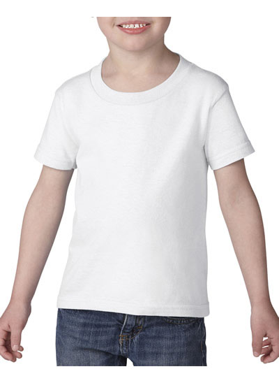 5100P Short Sleeve Classic Fit Toddler T-Shirt - White