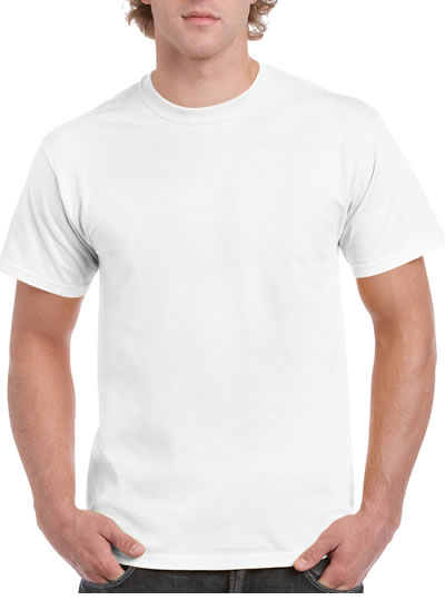 H000 Hammer Adult T-Shirt  - White